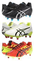 New Menand039s Asics Gel-lethal Speed Soccer Rugby Cleats Size Us 13 P503y 260