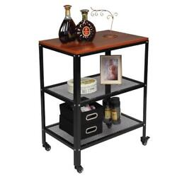 3tier Kitchen Bakerand039s Rack Utility Microwave Oven Stand Storage Cart Workstation