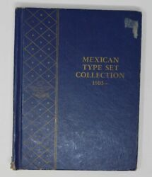 Mexican Type Set Collection Complete 1905 - In Album