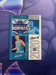 Panini Nba Hoops 20-2021 Class Of 2020 Lamelo Ball Rookie Card Hornets