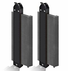 2 Pack Contour Gauge Duplicators With Lock Wide 10 + 10 Tool To Cut Odd Shapes