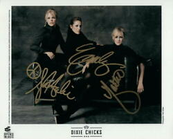 Dixie Chicks Band Signed Autograph 8x10 Photo - Taking The Long Way Fly Home