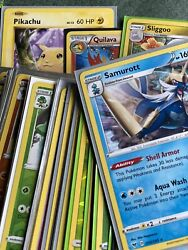 Pokemon Card Lot 100 Official Tcg Cards Over 75 Rares Included - Fresh Pulls