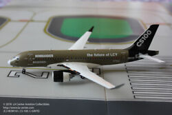 Jc Wings Bombardier Cs100 Airbus A220 In Factory Color Diecast Model In 1200