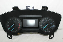 Speedometer Instrument Cluster 2014 2015 Ford Fusion Panel Gauges 34,257 Miles