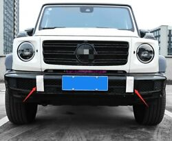 Stainless Steel Front And Rear Bumper Decoration For Benz G Class G500 G63 19-20