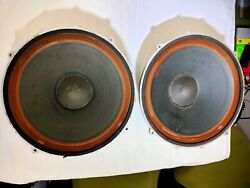 Decca Kelly 15 Inch Drivers - Very Rare Vintage 1960s Woofer Tested
