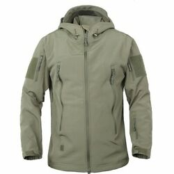 Outdoor Military Fan Tactical Jacket Male Waterproof Camouflage Men's Clothing