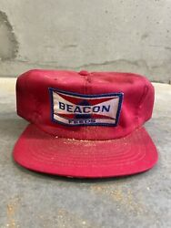 Vintage Beacon Feeds Trucker Hat Usa Made Campus Not K Products Louisville Nos