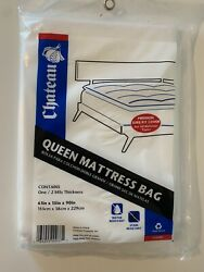 Chateau Mattress Bag for Queen Pillow Top Mattresses 61 IN X 15 IN X 90 IN