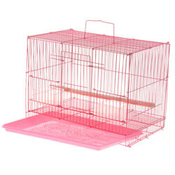 Bird Cage Easy Install Cage Perroquet Pour Finch Budgie Cockatiel Macaws