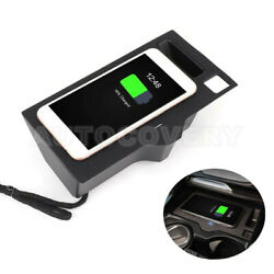 For Bmw X3 X4 G01 G02 Wireless Car Charger Wireless Phone Charging Pad 2018-2021