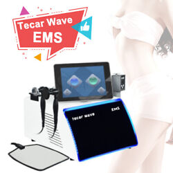 New Diathermy Tecar Therapy Combined Shockwave Ems Muscle Stimulation Equipment