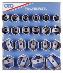 Otc Tools 9850 Locknut Wrench Display With Tools And Board