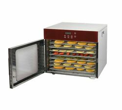 8 Layers Commercial Food Drying Machine Dried Fruit Machine Food Dehydrator