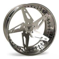 24 Inch Forged 2 Piece Comp Wheels Set - Custom Made For Classic American Muscle