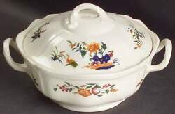 Wedgwood Chinese Teal Round Covered Vegetable Bowl 781904