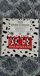 101 Dalmations Complete Collectors Set – With Certificate -mcdonalds Happy Meal