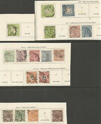 Germany - Wanduumlrttemburg 1863-1890s Used Selection With Better Items...17 Stamps