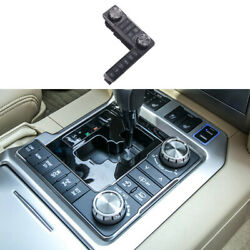 For Toyota Land Cruiser 2016-2021 Black Middle Console Button Switch Frame Trim