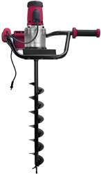 Xtremepowerus 1200w 1.6hp Electric Post Hole Digger W/ 4 Auger Bits