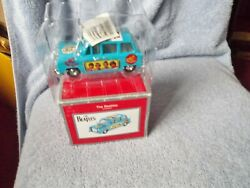 The Beatles Blue Taxi Cab With Decals Clintonand039s Heirloom Christmas Ornament