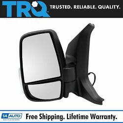 Trq Side View Mirror Heated Power Folding Short Arm Lh Side For Ford Transit Van