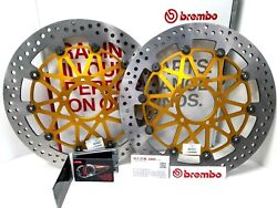 Cp Front Brake Discs Brembo Supersport Andoslash 330 Ducati 1199 Panigale 2012-2013