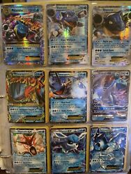 100 Pokemon Cards Lot Mid-2000andrsquos To Present - Guaranteed Full Arts And Holos Nm