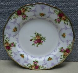 Royal Albert Old Country Roses Rose Cameo Violet 8 Salad Plate