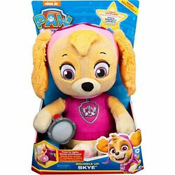 Paw Patrol, Snuggle Up Skye Plush With Flashlight And Sounds, For Kids Aged 3…
