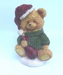 Latex Bear Mold Plaster Concrete Cement Casting Christmas Holiday Mould