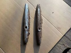1930's 1940's Plymouth Chevrolet Dodge Bumper Guards Tall