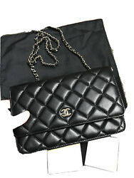 Chanel Caviar Quilted Wallet On Chain $1500.00