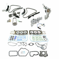 For 11-15 Chrysler Dodge Jeep Ram 3.6l 200 300 Timing Chain Pump And Head Gaskets