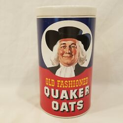 Vintage 1977 Quaker Oats Ceramic Cookie/oatmeal Jar/ Canister Regal China