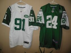 New York Jets Jersey Men's Replica All Sewn Size 48 Or 52