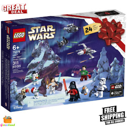Lego Star Wars Advent Calendar Building Kit Fun Role Play Collectible 311 Pieces