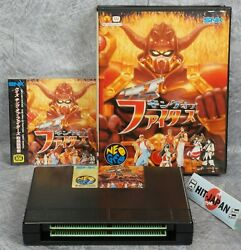 Quiz King Of Fighters Neo Geo Aes Free Shipping Ref 0822