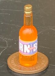 112 Scale Bottle With An Irn Bru Label Tumdee Dolls House Drink Cafe Accessory