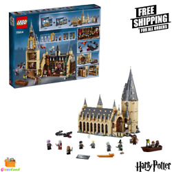 Lego Harry Potter Hogwarts And Minifigures Great Hall Building Kit Magic Castle