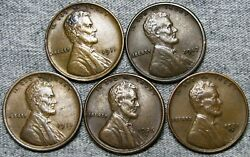 1911 1917-s 1918 1926-d 1931-d Lincoln Cent --- Nice Coin Lot --- L807