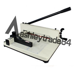 All Metal Ream Guillotine No Assembly Heavy Duty 858 A4 Size Stack Paper Cutter