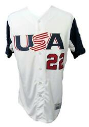 Andrew Mccutchen Phillies Usa Team Signed White Jersey Mlb Hologram 140593