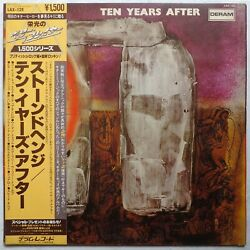 Ten Years After And039stonedhengeand039 1979 Japanese Reissue Vinyl Lp W/obi And Insert