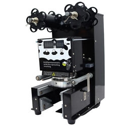 Tabletop Fully-automatic Bubble Tea Cup Sealing Machine 400-600 Cups/hour Usa