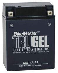 Bikemaster Trugel Battery For Arctic Cat 500 Fis At 2002-2008 Blue