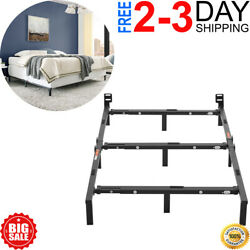Mainstays 7 Adjustable Bed Frame Black Steel Twin Queen Full King Size