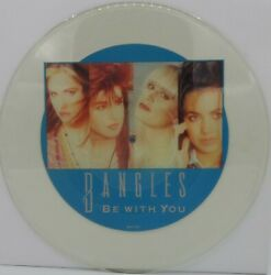 Bangles And039be With Youand039 1989 Uk Uncut 12 Shaped Picture-disc Vinyl