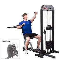 Body-solid Pro Select Multi Press Machine Gmfp-stk/3 Cable Bench Press Pec Fly